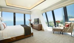Fairmont Baku, Flame Towers - One-Bedroom King Suite with Caspian Sea View
