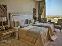 Guba Palace Otel Azərbaycan - 1 ya 2 ayri yataq ilə 2 nəfərli delux otaq qöl görüntüsü ilə