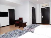 Hazz Hotel - Standard Double Room with Two Double Beds