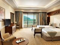 Shamakhi Palace Sharadil - 2 nəfərlik Delux 2 ayrı yataq ilə və balkon ilə, hovuza görüntüsü ilə