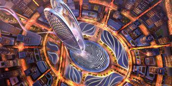 Новый небоскреб в Дубае будет иметь форму отпечатка пальца шейха