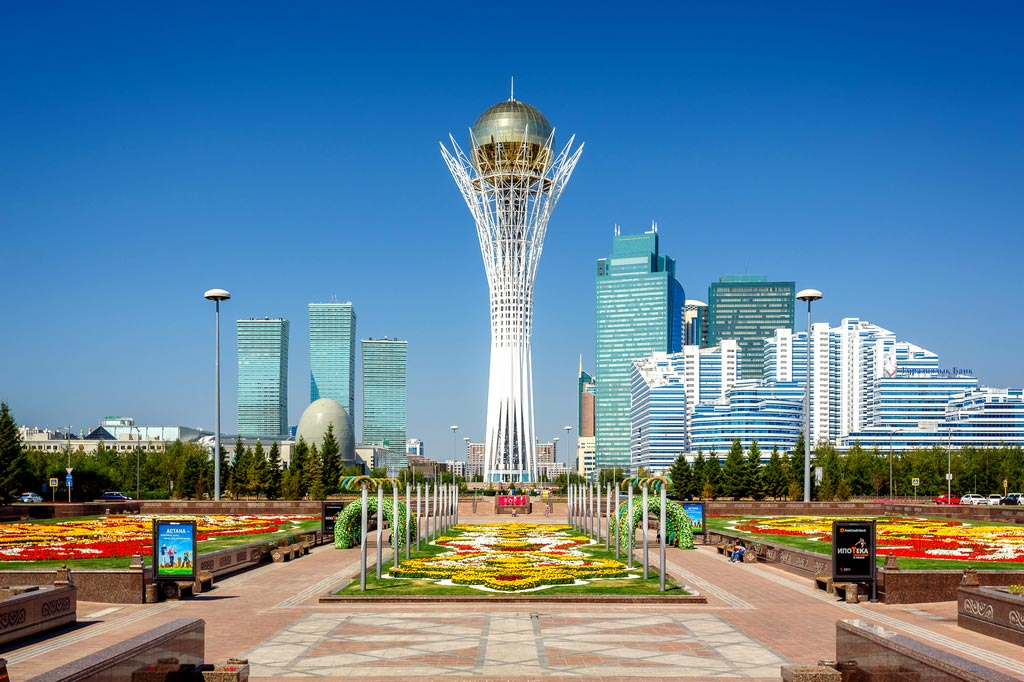 Sights of Nur-Sultan