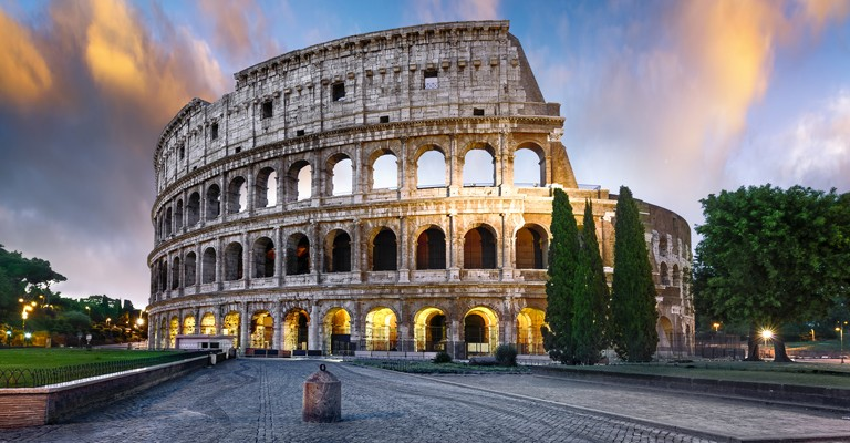 Italy is a large state in the south of Europe