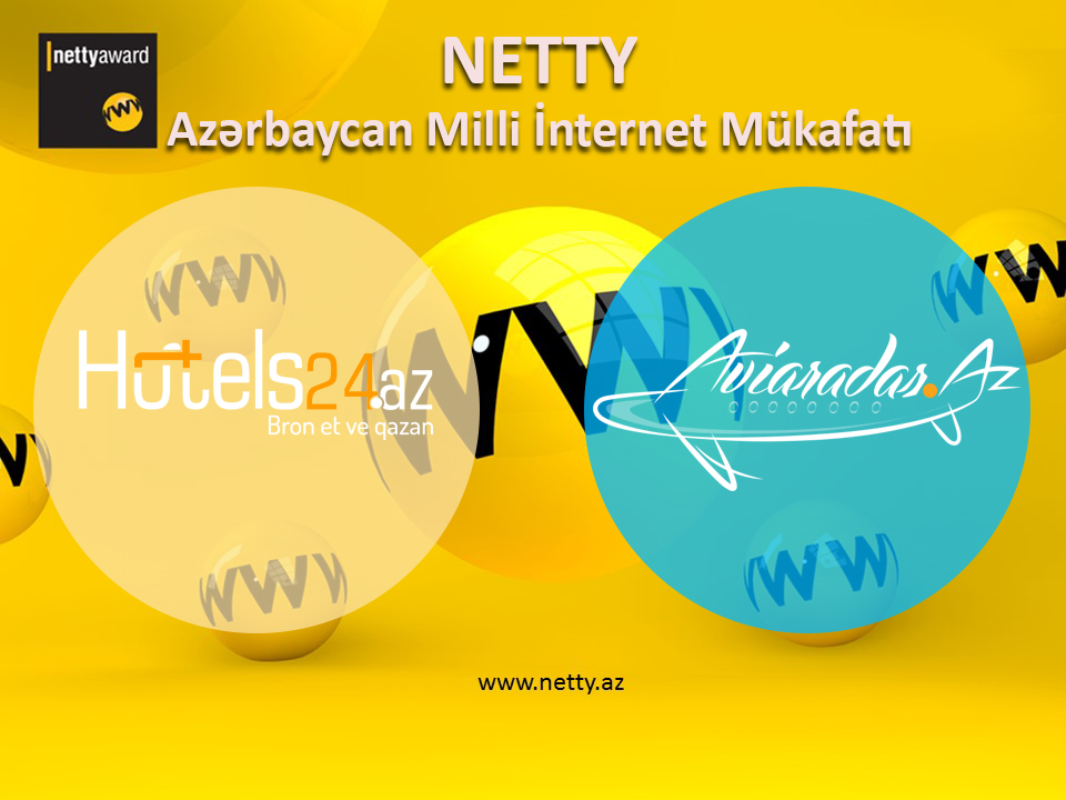 Hotels24.az and Aviaradar.az are proud of the National Internet Award.