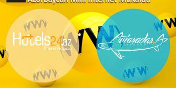 Hotels24.az və Aviaradar.az Milli İnternet Mükafatına iddialıdır.