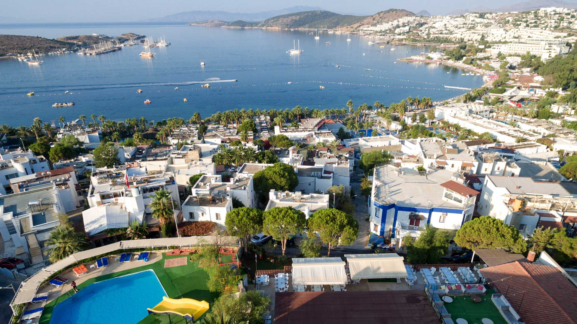 Bodrum Hotels with a private beach