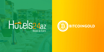 Hotels24.az Partners With Bitcoin Gold