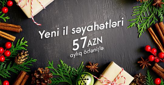 Sərfəli Yeni il səyahətləri