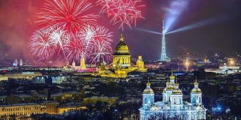 New Year in St. Petersburg in 2019-2020