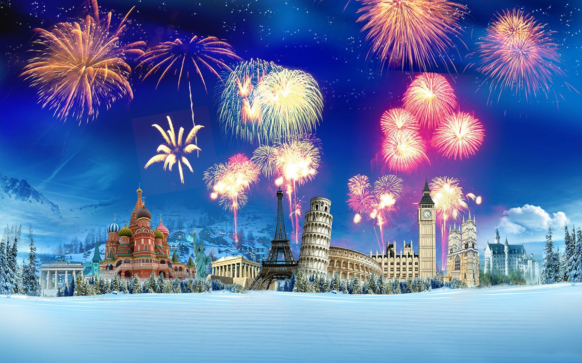 Which city is better to meet in New Year? - New Year Abroad