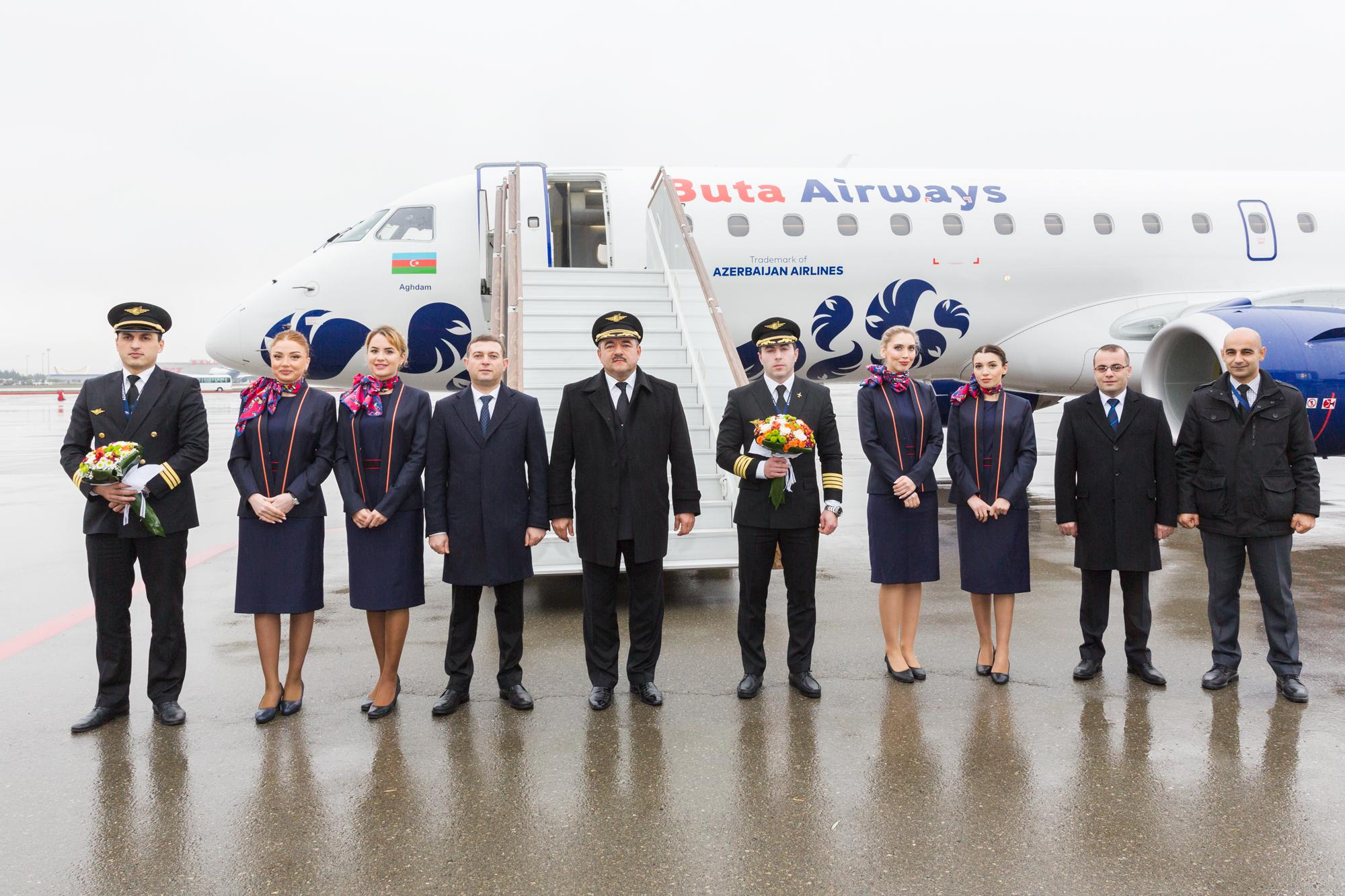 ButaAirways запустила самолет из Бразилии
