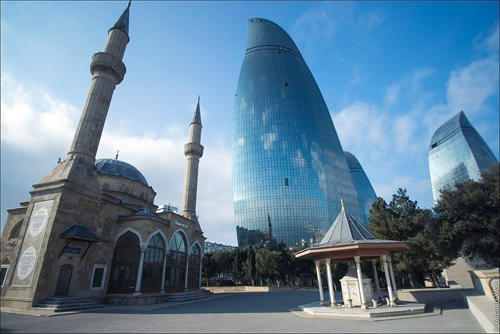 The extraordinary beauty of Baku in the report of the TV channel