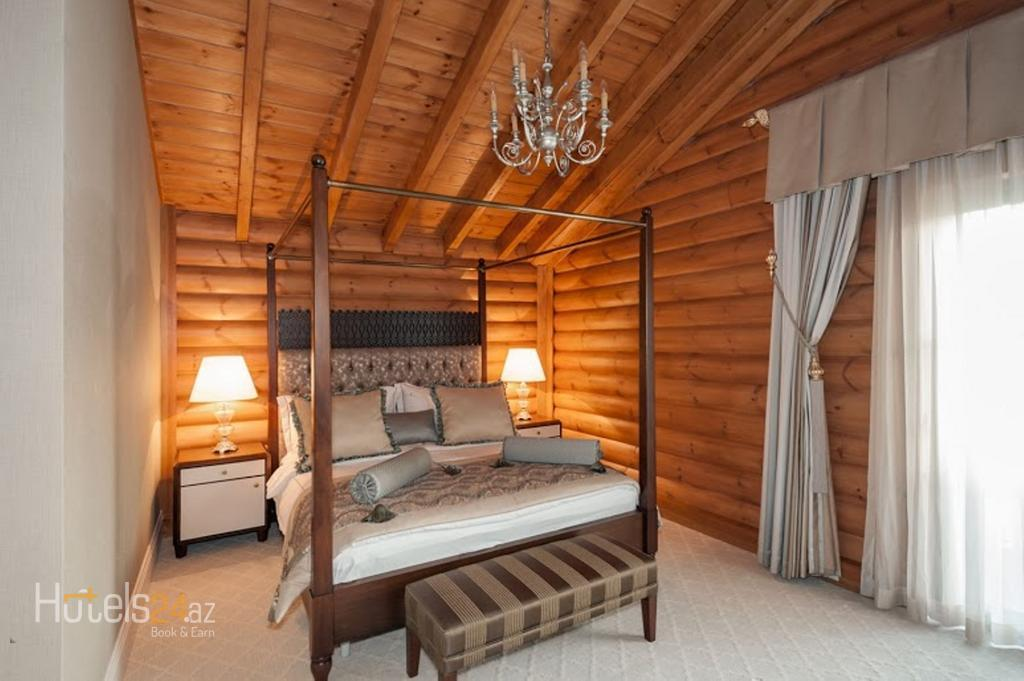 Rixos Quba Azerbaijan - Вилла Манна с 1 спальней, вид на озеро/горы, терасса