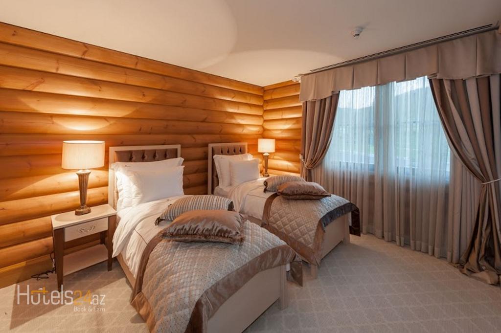 Губа Палас Отель Азербайджан - Вилла Atropatena c 3 спальнями и 2 гостиными