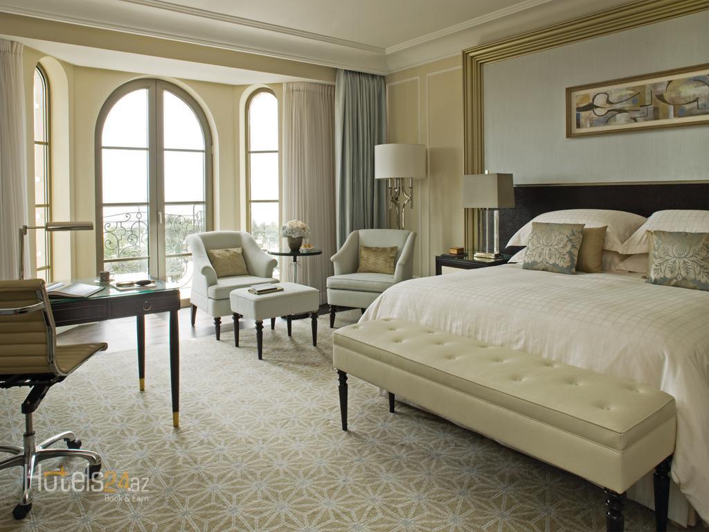 Гостиница Four Seasons Baku - Двухместный номер Делюкс с 2 отдельными кроватями и видом на город
