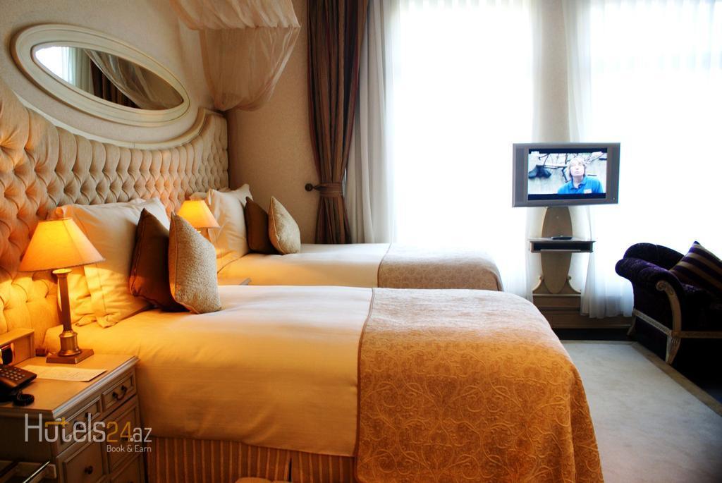 Спа-отель Excelsior Баку - Двухместный номер Делюкс с 2 отдельными кроватями