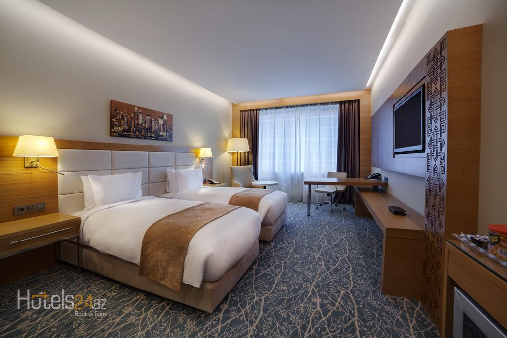 Гостиница Holiday Inn Баку - Двухместный номер для некурящих с 2 отдельными кроватями