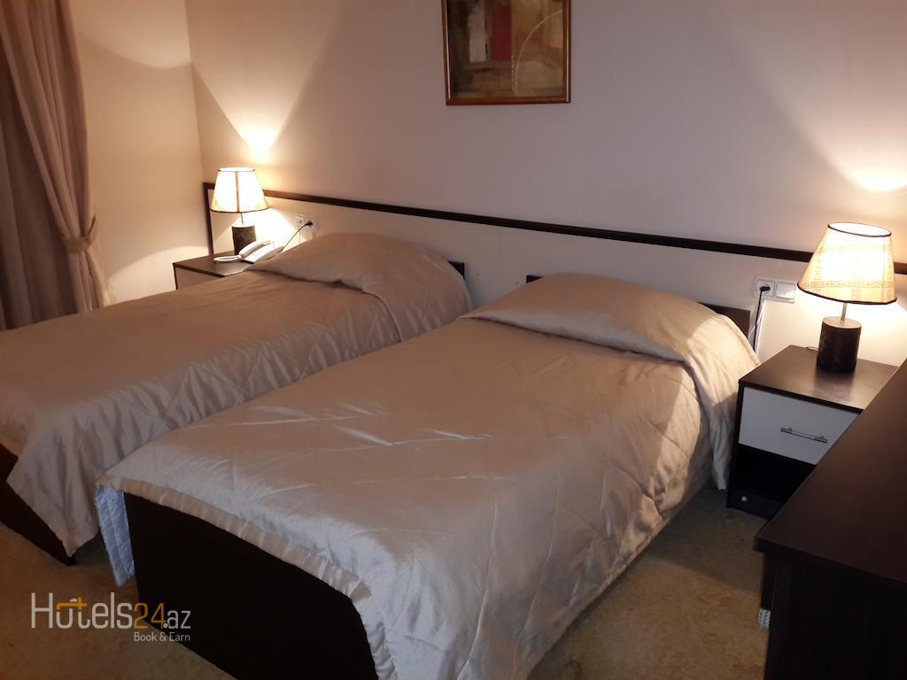 Гостиница Кавказ Сахил - Двухместный номер с 1 кроватью или 2 отдельными кроватями