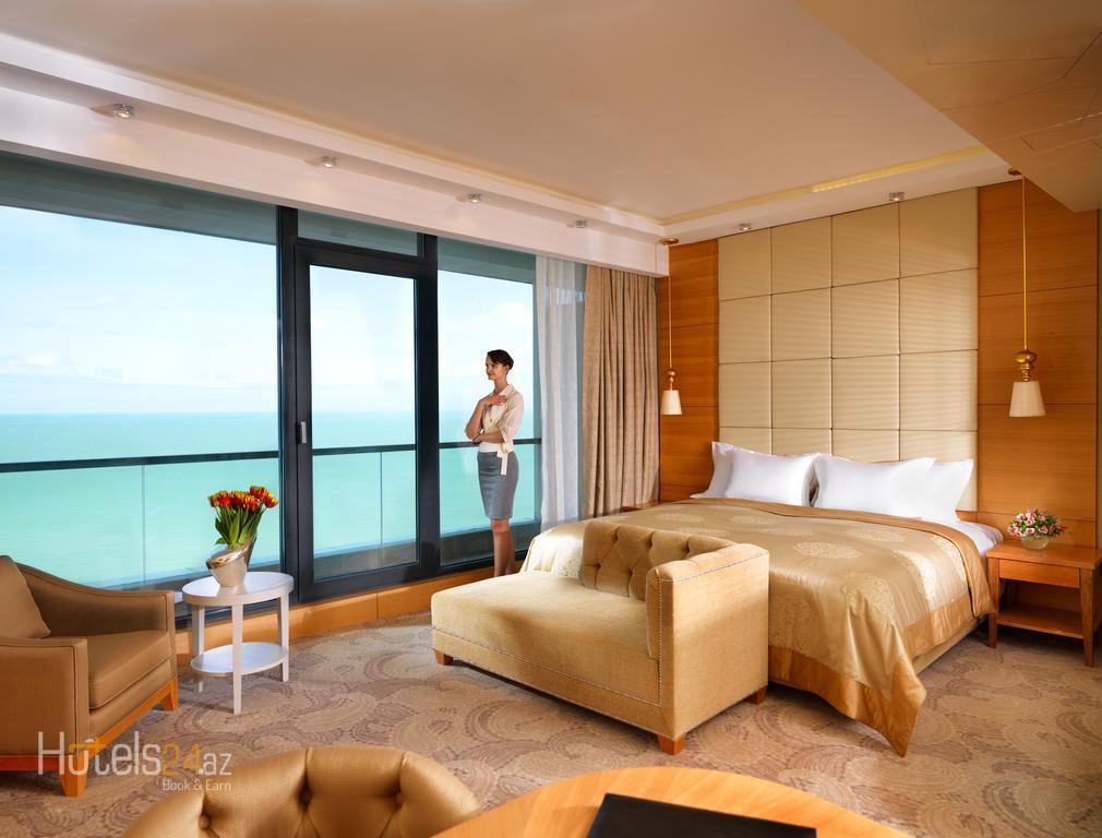 Гостиница Bilgah Beach - Номер делюкс с балконом