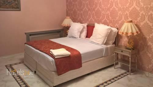 Гостиница Khazar Golden Beach - Двухместный номер с 2 отдельными кроватями и видом на бассейн