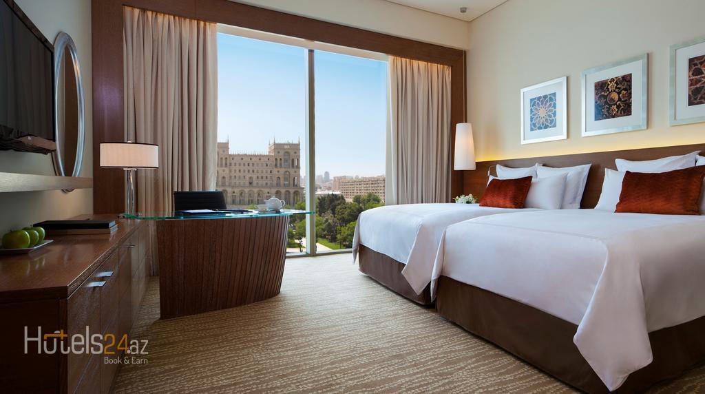 Гостиница JW Marriott Absheron - Представительский номер Делюкс с доступом на Клубный этаж