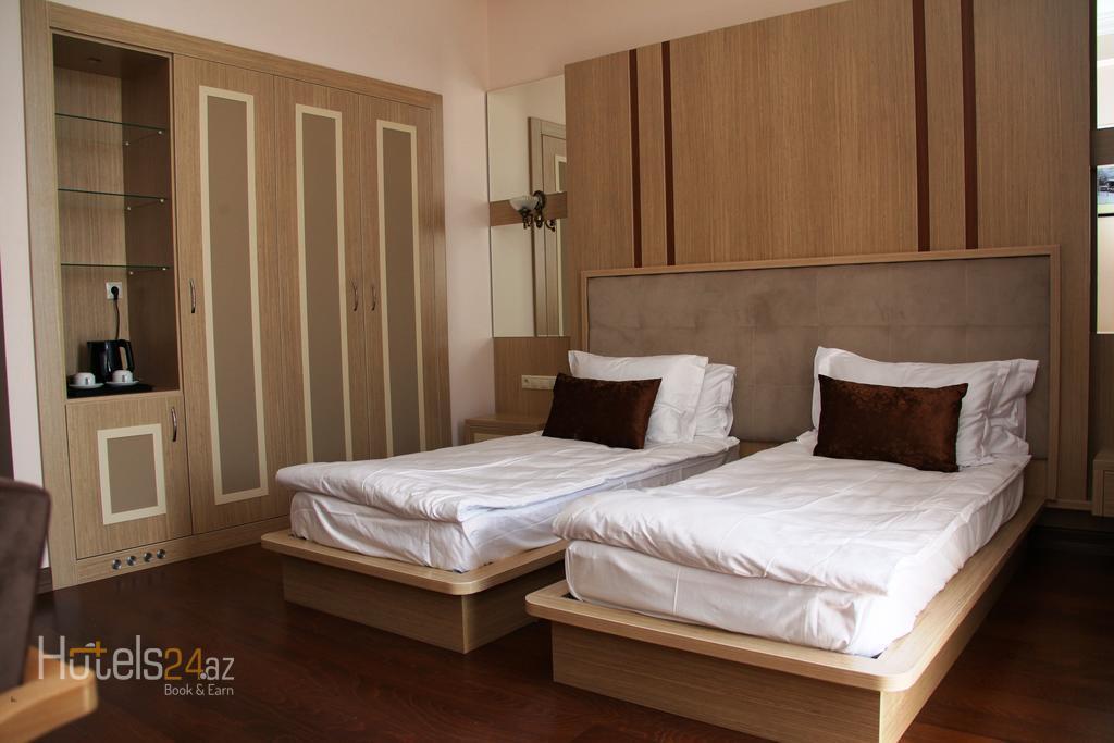 Спа-Отель Marxal -Шеки - Стандартный двухместный номер с 2 отдельными кроватями