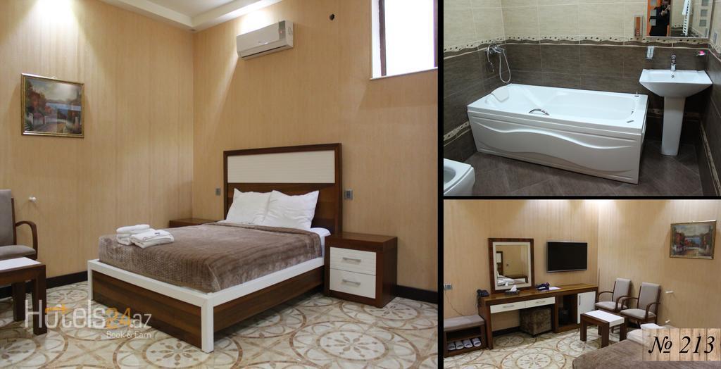Гостиница Манор - Двухместный номер Делюкс с 1 кроватью и ванной