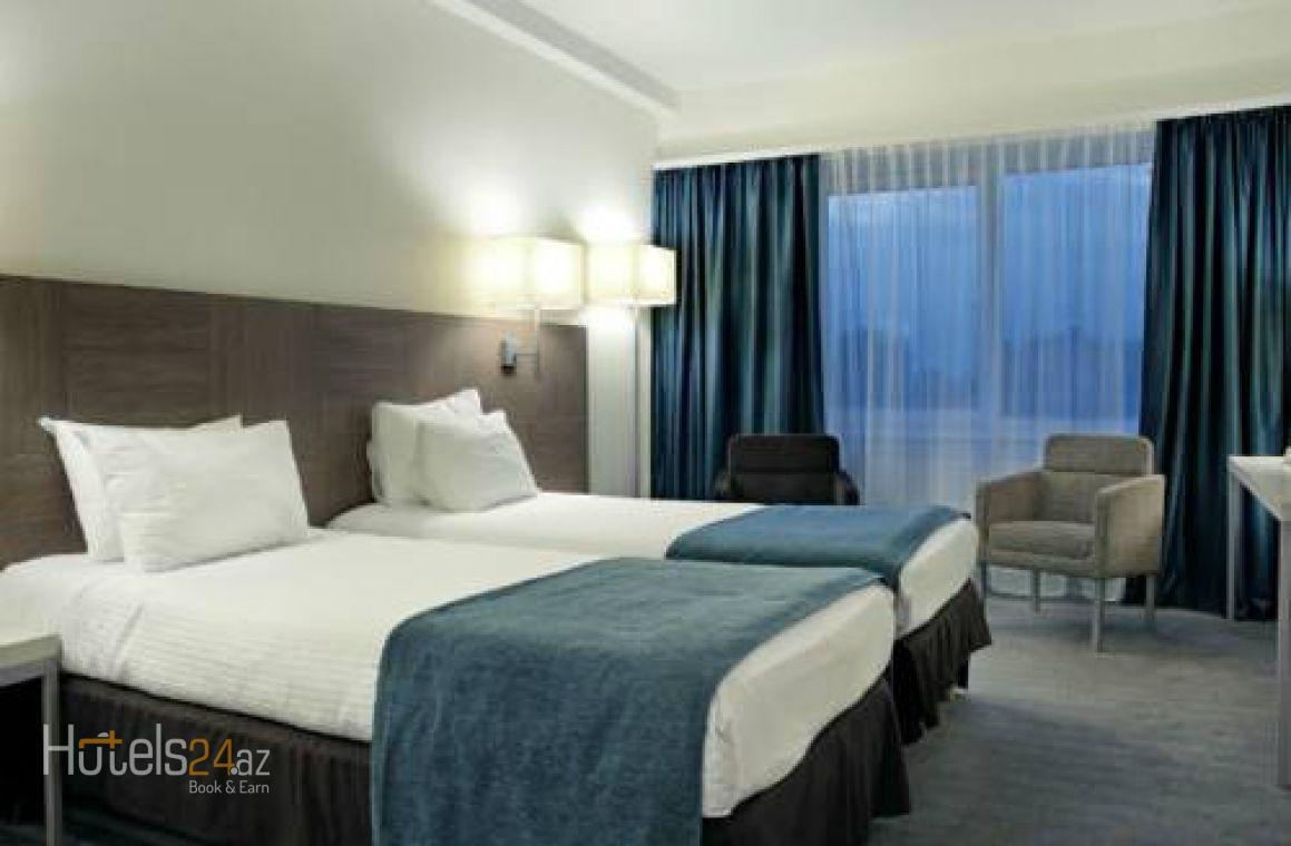 Двухместный номер Делюкс с 1 кроватью и балконом