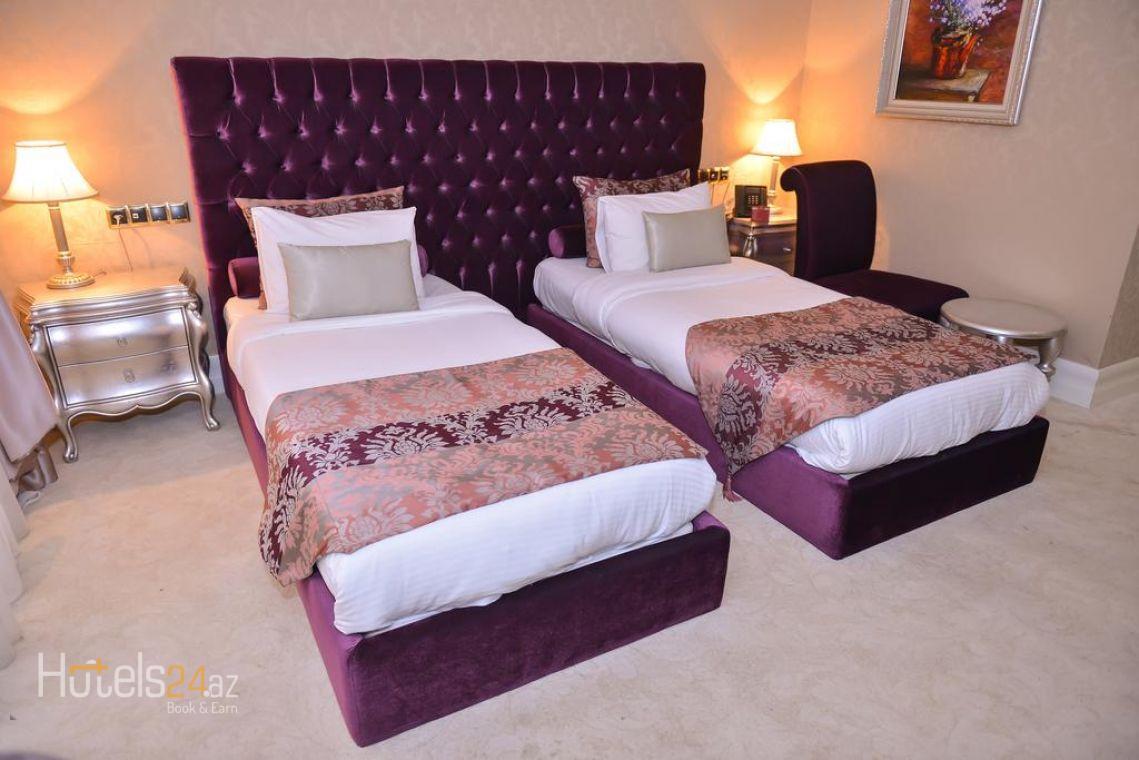 Стандартный двухместный номер с 2 отдельными кроватями