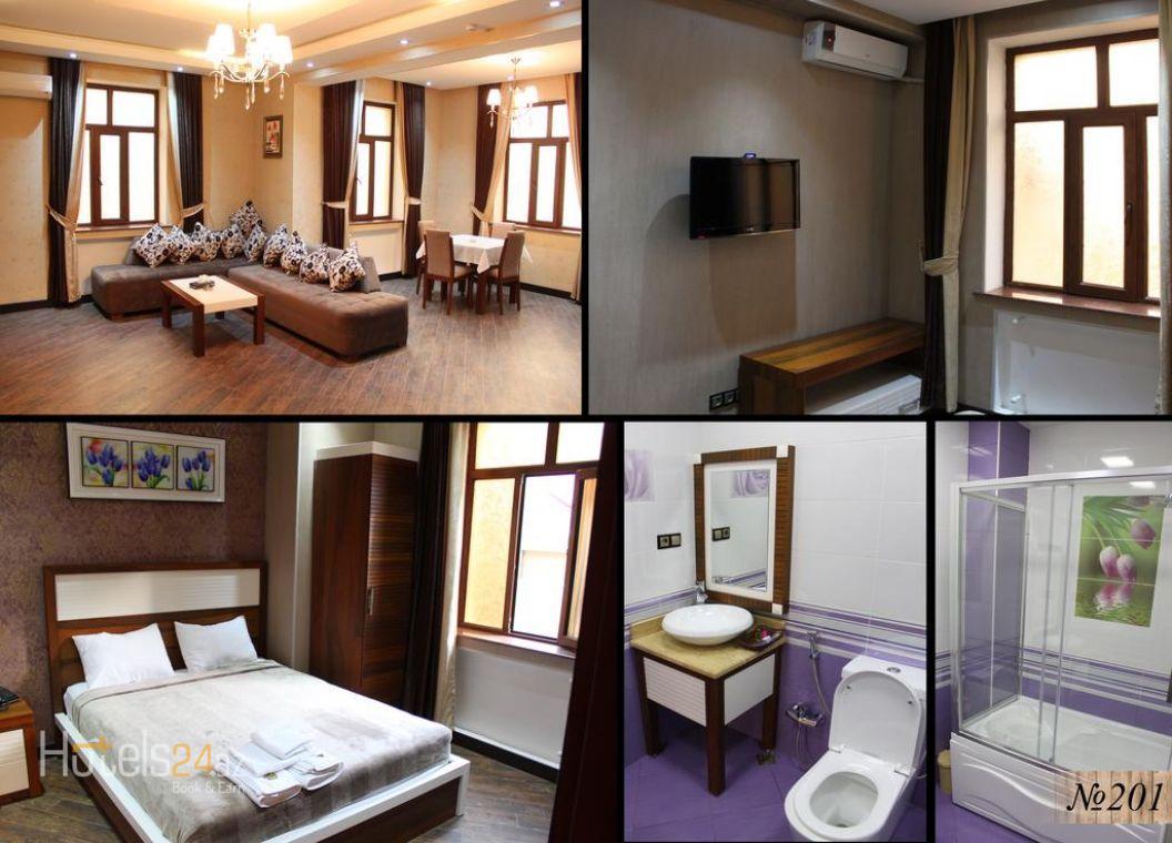 Двухместный номер Делюкс с 1 кроватью и ванной